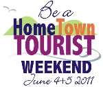 Home town tourist weekend